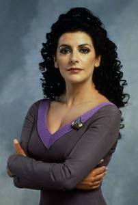 Marina Sirtis in Star Trek - YouTube
