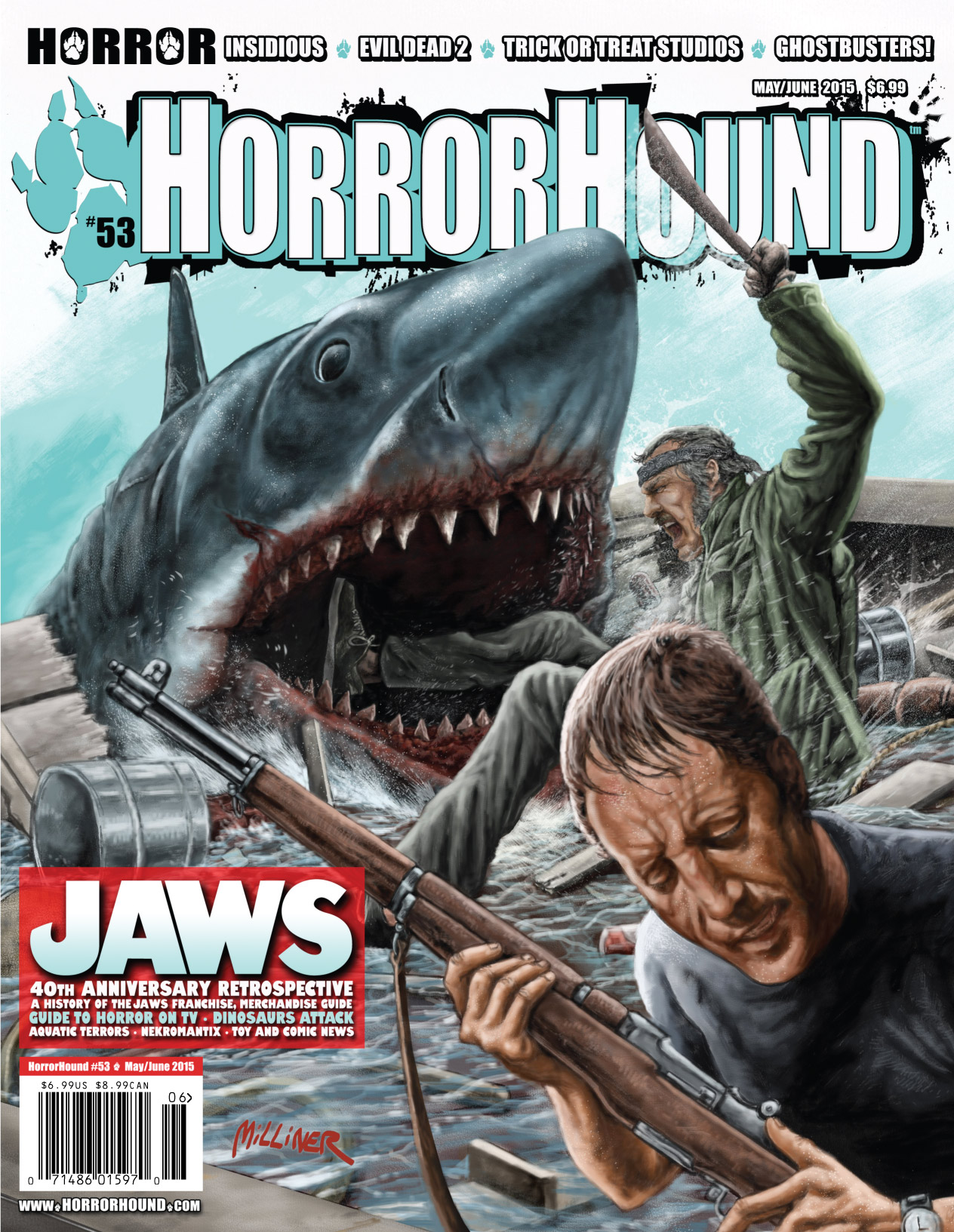 Jaws Book Cover Art ~ The meg new art poster channels jaws sci fi explorer