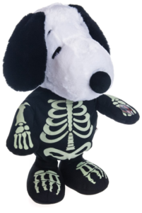 i have gotten a glowindarksnoopy snoopy animated character from cracker barrel